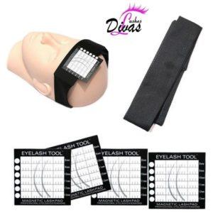 Diadema magnética+ 4 almohadillas magnéticas (ACC-084)