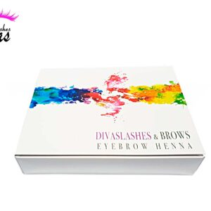 Kit Henna cejas 10 colores 4g Divaslashes & brows