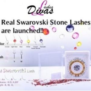 Pestañas Swarovski Real – W-Lash o Y-Lash